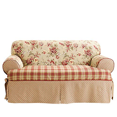 Sure Fit SF37491 Lexington Relaxed Fit 1 Piece Sofa Slipcover, Multi