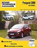 E.T.A.I - Revue Technique Automobile B752.5 - PEUGEOT 3008 I PHASE 1 - 2009 à 2013
