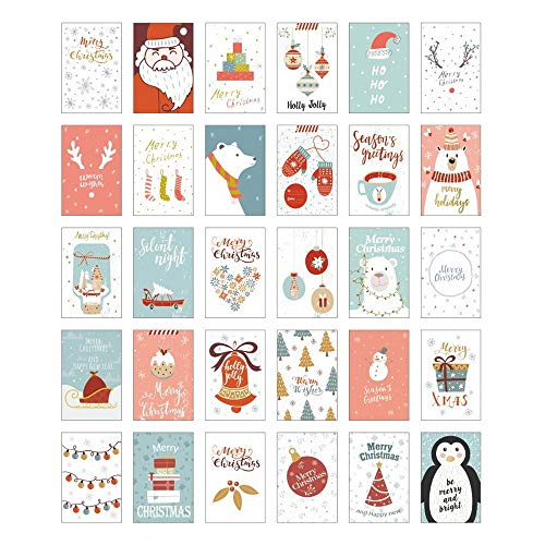 """NLR Christmas Postcards Pack # Letter from Snowland 