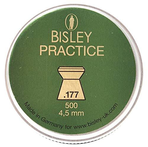Bisley práctica PELLETS .177 x 500
