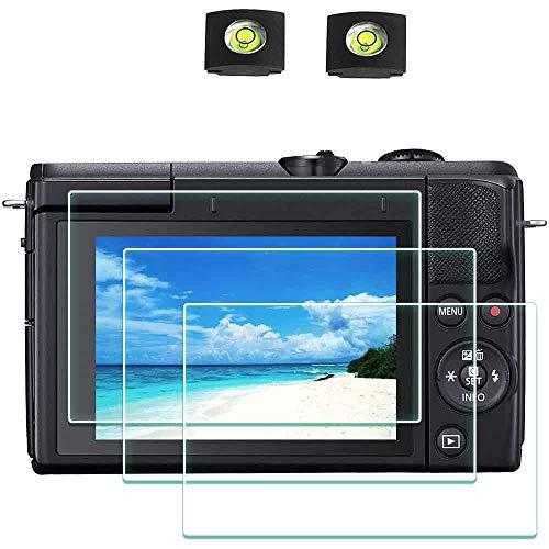 Schutzfolie Bildschirmschutzfolie für Canon EOS M200 Kamera & Blitzschuhabdeckung , ULBTER 0,3 mm 9H Festigkeit gehärtetes Glas Kratzfest, Anti-Fingerabdruck - 3 Stück