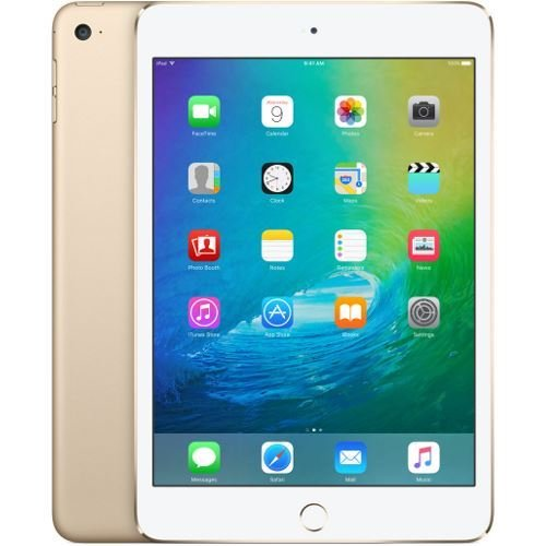 Apple iPad Mini 4 128gb Wi-Fi - Gold (Renewed)