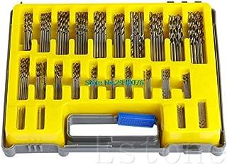 Paul My 150Pcs/lot Mini Micro Power High Speed Steel Drill Bit Twist Kits Set 0.4-3.2mm New