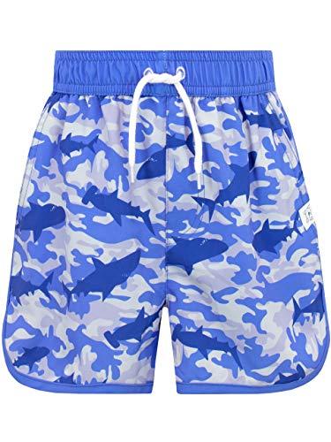 Harry Bear Bañador para Niño Camuflaje Tiburones Azul 11-12 Años
