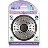 PREVENTS CLOGGED SHOWER DRAINS – ShowerShroom hair catcher is a must-have bathroom accessory. It's designed to effortlessly catch any type of human or pet hair, preventing clogged drains and costly plumber visits, without disrupting the flow of water...