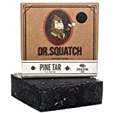 Best Exfoliating Soap Bars - Dr. Squatch Pine Tar Soap – Mens Soap Review