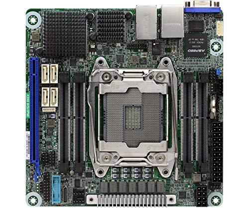 ASRock X299 WSI/IPMI LGA2066/Intel X299/DDR4/SATA3&USB3.1/V&2Gbe/ Mini-Itx Placa Base