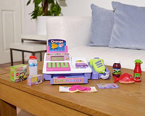 Childrens Kids Supermarket Cash Register...