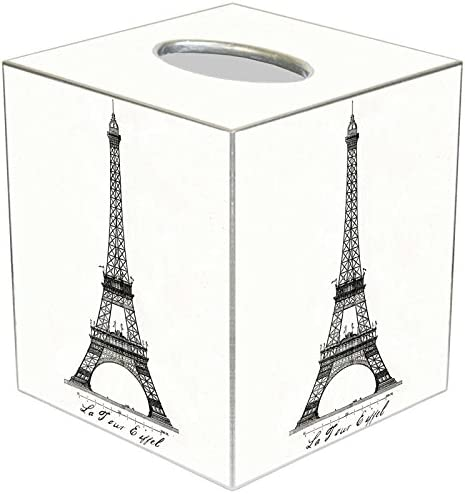 Marye-Kelley Year-end annual account Eiffel Manufacturer regenerated product Tower Paris Box France Tissue Cover