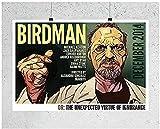 NC68 Poster Home Dekoration Birdman Michael Keaton USA Held