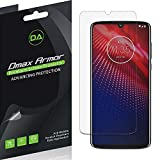[6-Pack] Dmax Armor for Motorola Moto Z4 Anti-Glare & Anti-Fingerprint (Matte) Screen Protector