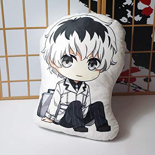yitao Peluches Anime Tokyo Ghoul Muñeca De Peluche Almohada Kaneki Ken Modek Juguete De Peluche Funda De Almohada De Doble Cara Cojín Juguetes De Dibujos Animados 45cm