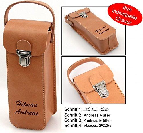 Boule Leder Tasche, Premiumprodukt aus Rindleder mit Gravur, Geschenk Idee