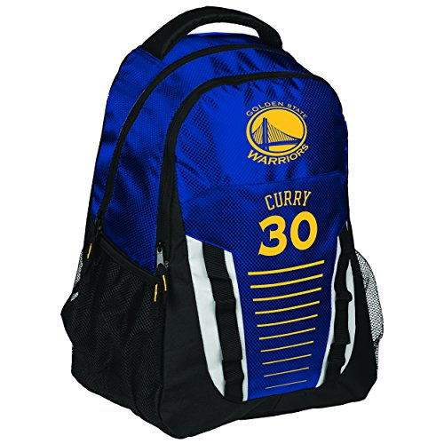 FOCO Golden State Warriors Franchise Backpack Gym Bag - Stephen Curry #30