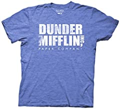 """Material is a super soft 50/50 Cotton/Polyester. Machine wash. OFFICIALLY LICENSED: To ensure you are purchasing an officially licensed The Office product by Ripple Junction, look for """"Sold by Ripple Junction"""" under the add to cart button Features: T..."""
