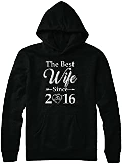 3th Married Together Anniversary Since 2016 Husband Wife Shirt Hoodie