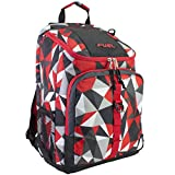 Fuel Top Load Sport Backpack with Tech Compartment for Travel, School Backpack, Hiking, Outdoors - Red Geo