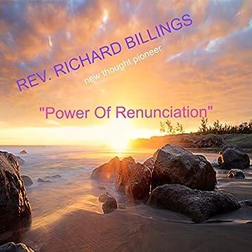 Power of Renunciationn (Live) (Live)