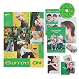 ASTRO 8th Mini Album - SWITCH ON [ OFF Ver. ] CD-R + Photobook + Lyric Book + Photocard Set + Sticker + Post Card + OFFICIAL POSTER
