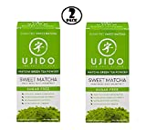 (Pack of 2) Ujido Drink Mix, Sweet Matcha, 0.7 Oz, 10 Packets, 1 Ct.
