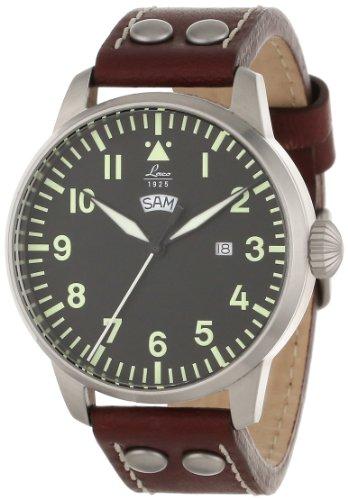 Laco / 1925 861807 - Reloj Analógico clásico de piloto, para Hombre