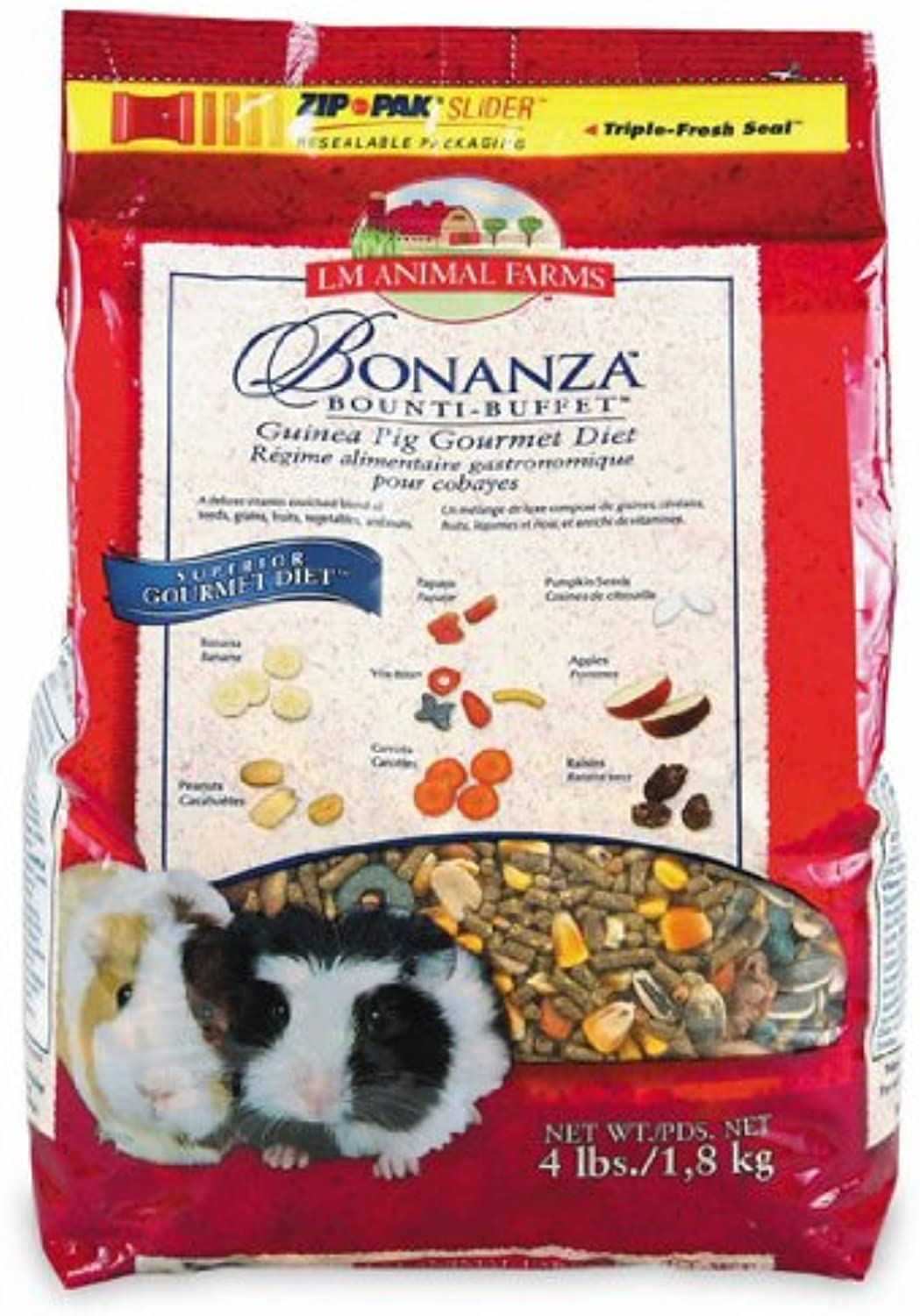 Bonanza G Pig Food 4 Pounds  Part    2282