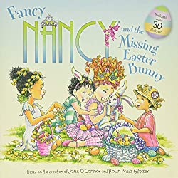 easter books fancy nancy and the missing easter bunny