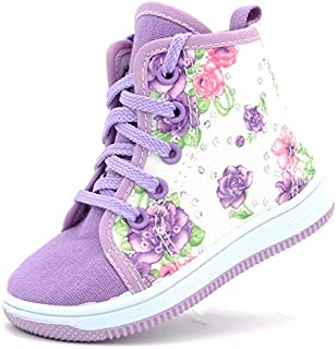 Canvas Sneakers Shoes for Toddler Girls Infant Baby Strap...