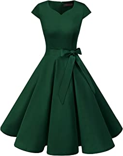 Women's Vintage Tea Dress Prom Swing Cocktail Party Dress...
