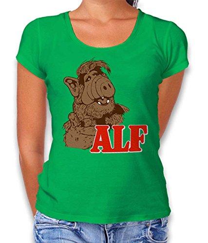 Alf Damen T-Shirt Gruen L