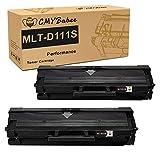 D111S MLT-D111S Cartucce Toner CMYBabee Ricambio per Samsung MLT-D111 111S Compatibile per Samsung Xpress M2070 M2070W M2026 M2026W M2070FW M2022 M2022W M2020 M2020W (Nero, 2 Pezzi)
