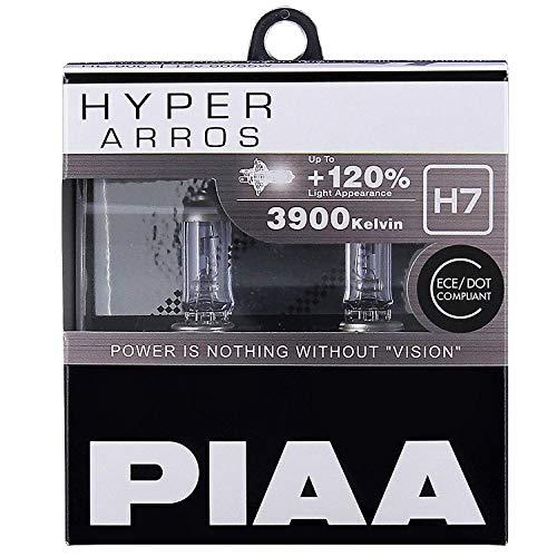 PIAA Hyper Arros H7 Coche Bombillas +120% (Pack Doble) HE903