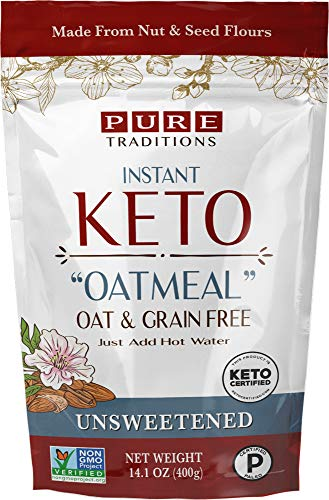 Instant Hot Cereal, Certified Paleo, Gluten & Grain Free, Unsweetened (15.8 oz)