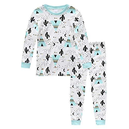 Pijamas para bebés Ropa de Dormir para niñas Conjuntos de Pijamas para niños Tops de Manga Larga + Pantalones