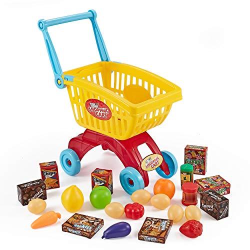 Think Gizmos Juegos de imitación para niños - Juegos Divertidos para niños y niñas (Carrito de Supermercado)