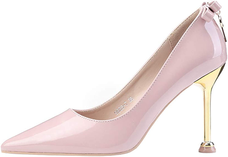 Women's Classic Evening Party Dance Wedding Closed Toe Kitten Heel Pump Casual Comfort,Pink,37