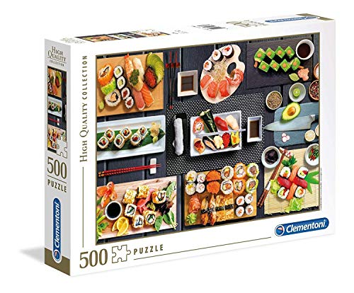 Clementoni Collection Puzzle-Sushi-500 Pezzi, Multicolore, 35064