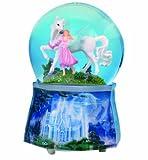 Spieluhrenwelt 25217 - Bola de Nieve Brillante con diseo de Unicornio