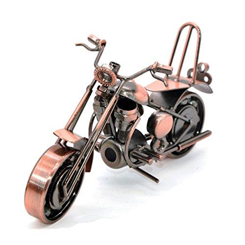 Creativa Mano Soldadura De Hierro Forjado Modelo De Motocicleta Metal Moto Colección Home Decoración Decoración Ornamentos Modelo 1
