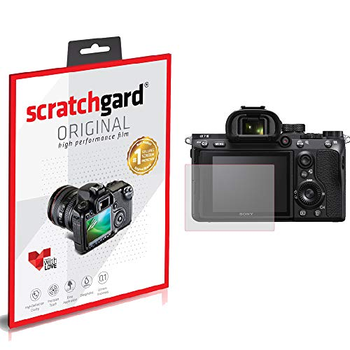 Scratchgard Anti-Bubble and Anti-Fingerprint Camera Screen Protector for Sony Alpha ILCE-A6100