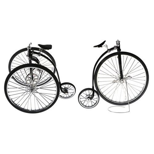 HomeDecTime 2 Set 1/10 Casa Bambole Miniatura Bicicletta Bici da Corsa Giochi Collezioni