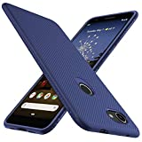 iBetter für Google Pixel 3A Hülle, Ultra Thin Tasche Cover Silikon Handyhülle Stoßfest Case Schutzhülle Shock Absorption Backcover Hüllen passt für Google Pixel 3A Smartphone (Blau)