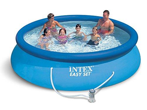 Global 3in1 Set Gartenpool 366 x 76cm Quick Up Pool INTEX