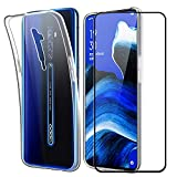 SDTEK Case for Oppo Reno 2 Full Body Front and Back 360