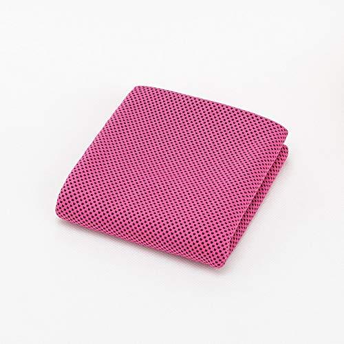 Llxxx Handtuch 30 * 90 cm mikrofaser EIS kaltes Handtuch benutzerdefinierte Fitness Sport kalte Handtuch Drop Sommer Sport handtücher großhandel, Rosa, 30 * 90 cm-3 stück