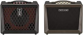 【セット買い】VOX Nutube搭載 ベースアンプ VX50 BA コンパクト 軽量設計 50Wの大出力 自宅練習 スタジオ ステージに最適 ヘッドフォン使用可 & Nutube搭載 アコースティックギターアンプ VX50 AG コンパクト ...