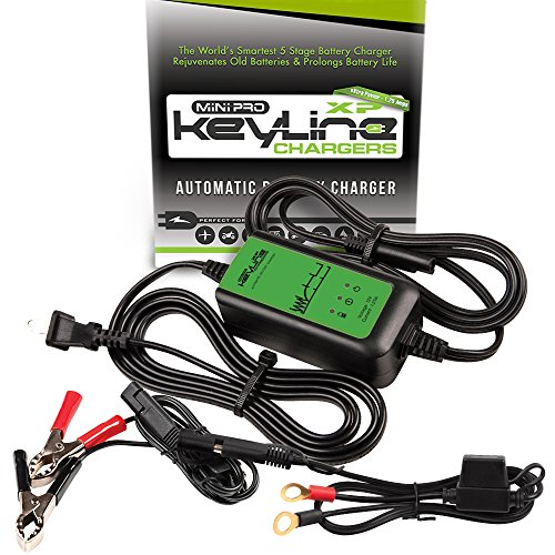 Cheapest Prices! KeyLine Chargers KC-125-MPXP 12V 1.25 Amp Automatic Mini Pro-XP Car Battery Charger...