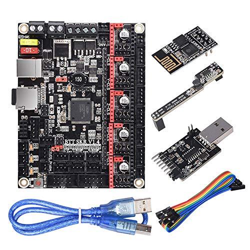 PoPprint BIGTREETECH BTT SKR V1.4 Turbo Scheda di controllo a 32 bit Modulo WIFI + DCDC V1.0 + BTT Writer Parti della stampante 3d