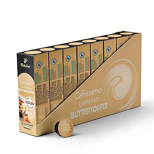 Tchibo Cafissimo Flavoured Edition Espresso Buttertoffee (80 Stück)
