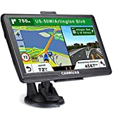 CARRVAS GPS Navigation for car,North America Map 2020 Vehicle GPS Satellite Navigation System for Cars, Voice Turn Direction Reminder, Truck GPS Route, Lifetime Free Update Map